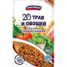 <b>Универсальная приправа Spice Master</b> 20 трав и овощей ...