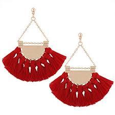 Youniker Womens Tassels Earrings Girls Bohemian ... - Amazon.com