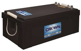 <b>Crown</b> 12CRV8D, 240Ah <b>12V</b> AGM <b>Battery</b> - Wholesale Solar