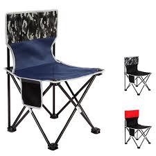 Portable Collapsible Chair Fishing Camp BBQ Stool <b>Folding</b> ...