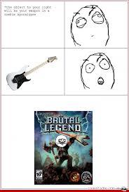 Brutal legend - Ragestache via Relatably.com