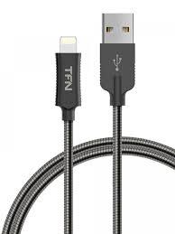 Цены на <b>Аксессуар TFN Forza USB</b> - Lightning 1m Steel TFN ...