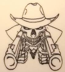 Image result for guns skulls