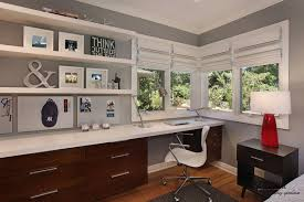 decoration 100x100 several corner home office design ideas with wood cabinet and the white table also white frames window bedroom office combo decorating simple design