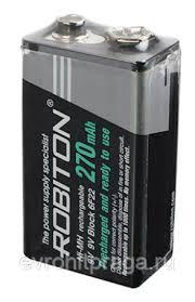<b>Аккумулятор крона Robiton RTU270MH</b>-1 BL1 Ni-MH 270mAh ...