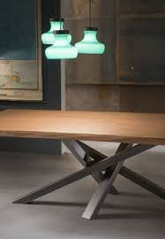 download the catalogue and request prices of shangai stainless steel and wood table by riflessi rectangular stainless steel and wood dining table calabria stainless steel
