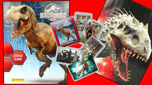 JURASSIC WORLD Movie <b>Dinosaurs</b> INDOMINUS REX vs <b>T-REX</b> ...