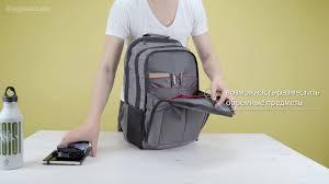 Обзор городского <b>рюкзака Samsonite Guardit</b> 2.0 L - YouTube