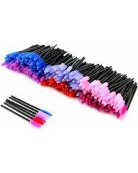 <b>300pcs Disposable Eyelash Mascara Brushes Wands</b> Applicator ...