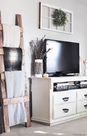 decorating ideas for the living room need the blanket ladder for the living room fall home tour filled with