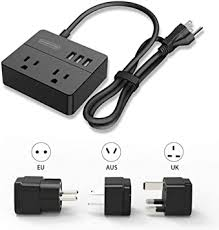 <b>NTONPOWER</b> Travel Small <b>Power Strip</b> with 3.3ft <b>Power Cord</b> and 3 ...