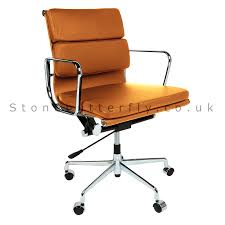 furnituredelightful modwayfurnitureeei tanofficechair tan eames office chair microfiber leather uk light upholstered fabric suede bedroomravishing aria leather office chair