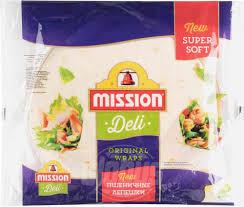 <b>Лепешки пшеничные Mission</b> Deli, 250 г — купить в Москве в ...