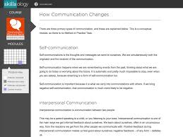 communication influence and teams course skillsology course content