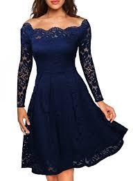 MissMay - MISSMAY <b>Women's Vintage Floral Lace</b> Off Shoulder ...