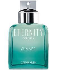 Calvin Klein <b>Men's Eternity Summer</b> For <b>Men</b> Eau de Toilette, 3.3-oz ...