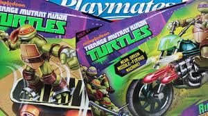 <b>Черепашки</b>-<b>ниндзя</b> от <b>Playmates Toys</b>: транспорт - мотоцикл и ...