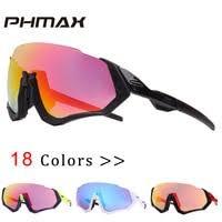 PHMAX <b>Polarized Cycling Eyewear Cycling Glasses Bicycle</b>...