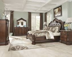 emily bedroom set light oak:  image of modish ashley millennium bedroom furniture including wooden king bed frame plans also chocolate brown