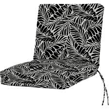 outdoor dining chair cushion solid malkus fresco ebony outdoor dining chair cushion