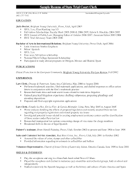lawyer resume sample ontario sample resume of state trial court lawyer resume sample ontario sample resume of state trial court clerk pdf