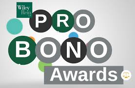 celebrating wiley rein s pro bono accomplishments working wiley wiley rein held its fourth annual pro bono program celebration on 25 celebrating 22 attorneys for their significant commitment and contributions to
