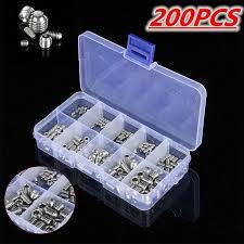 <b>200pcs</b> St <b>304</b> Stainless <b>Steel</b> Allen Head Socket Hex <b>Set</b> Grub ...