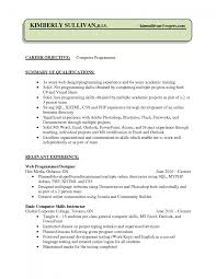 sample resume nearr computer programmer resume sle programmer computer programmer job description resume