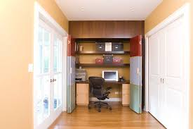 closeted home office home office closet ideas bedroom organizing home office ideas