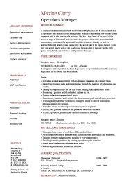 operations manager resume job description example template operations manager resume job description example template sample work projects resources