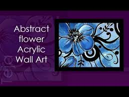 <b>Abstract</b> Acrylic Wall <b>Art</b> Part1 | Acrylic Painting part <b>1</b> | how to draw ...