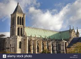 basilica of saint denis religious edifice in gothic style rebuilt in the 12th century by the abbot suger cemetery for the kings of france basilica saint denis