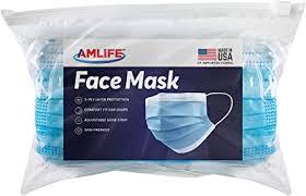 AMLIFE Face Masks [10 Pieces Pack] Disposable ... - Amazon.com