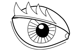 Small Picture Eyes Coloring Pages Coloring Home