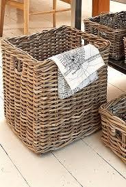 <b>Rattan</b> Storage Basket | Плетение корзин, <b>Корзина</b> для газет ...