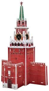 3D-пазл <b>CubicFun Спасская башня</b> (S3035h), 29 дет.