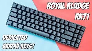 Royal Kludge <b>RK71 Mechanical Keyboard</b> Review - RK Blue Switch ...