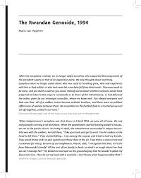 rwandan genocide homework help informative speech outline rwandan genocide purpose statement informative speech outline rwandan genocide purpose statement