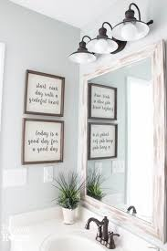 wall sconces bathroom lighting designs artworks: line your bathroom wall with great quotes to start the day