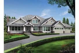 Eplans Craftsman House Plan   Modern Rambler   Upstairs Bonus    Front