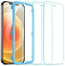 ESR Tempered-Glass Screen Protector for iPhone 12 ... - Amazon.com