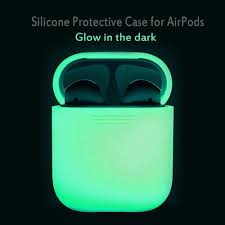 Luminous <b>Silicone</b> Case wireless Bluetooth <b>earphone Protection</b> ...