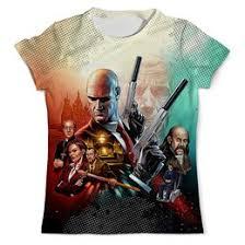 """Мужские футболки c уникальными принтами """"<b>hitman</b>"""" - купить в ..."""