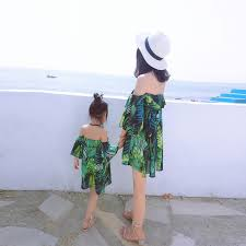 Mum <b>Mother Daughter Dresses Bohemian</b> Romantic Style Papa ...