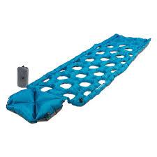 Надувной <b>коврик Klymit Inertia Ozone</b> pad Blue