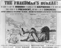 was reconstruction a success or failure for the nation as a whole one in a series of posters attacking radical republicans on the issue of black suffrage