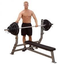 Тренажеры Body-Solid » Горизонтальная <b>скамья для жима Body</b> ...
