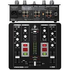 Behringer VMX100USB, купить <b>DJ микшерный пульт</b> Behringer ...
