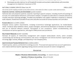 s finance resume breakupus prepossessing insurance s resume sample s
