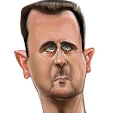 بشار  وريشار  قلب الأسد